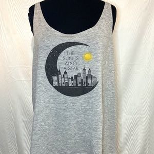 Tank Top From the Movie The Sun Is Also a Star L